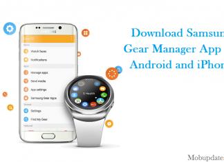 Download Samsung gear manager app