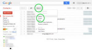 how to transfer contacts from iphone to gmail