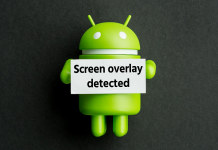 screen overlay detected