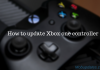How to update your Xbox one controller