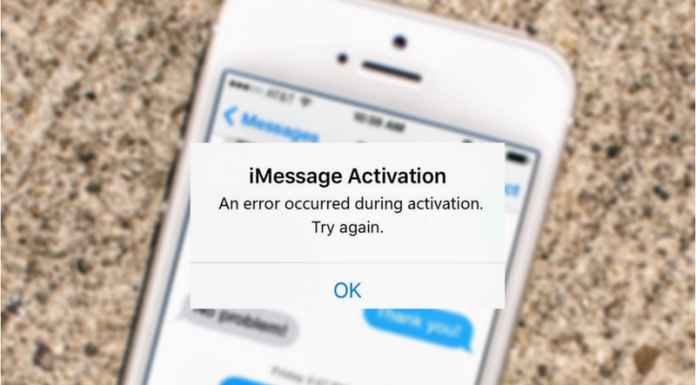 "fix iMessage ""Waiting for activation"" error"