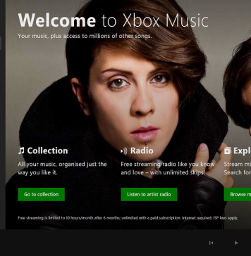 Xbox One background music apps