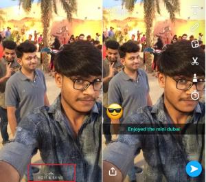 snapchat upload