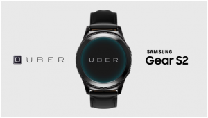 UBER for Samsung gear s2