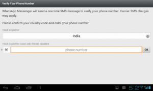 Whatsapp Messenger for Tablets