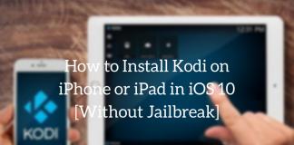 install Kodi on iPhone or iPad in iOS 10