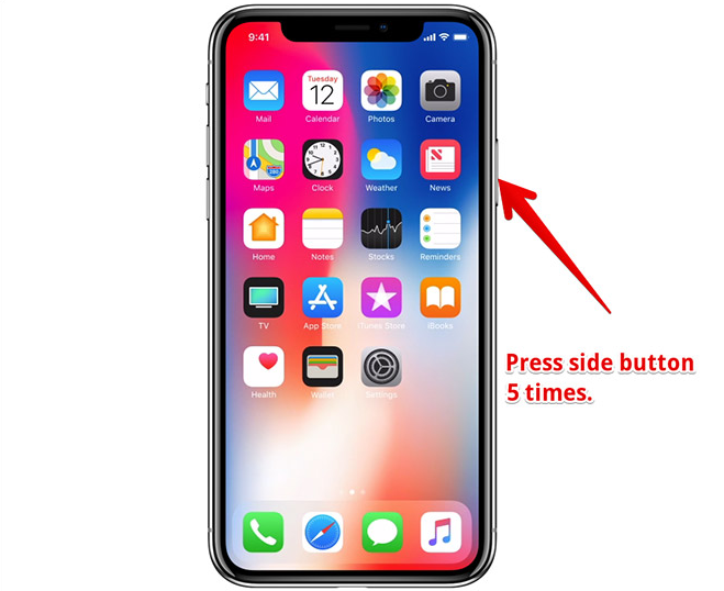 disable Face ID in iPhone X