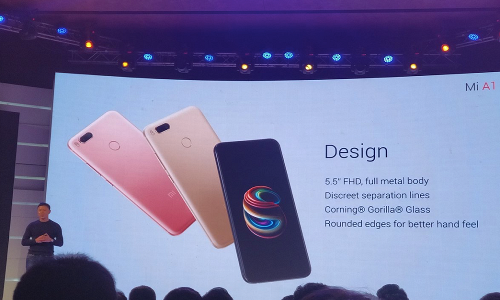 Xiaomi Mi A1 Smartphone Launched Price Specs And