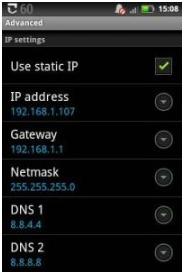 Fix Obtaining IP Address Error in Android
