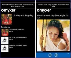 Myxer Free Ringtones App