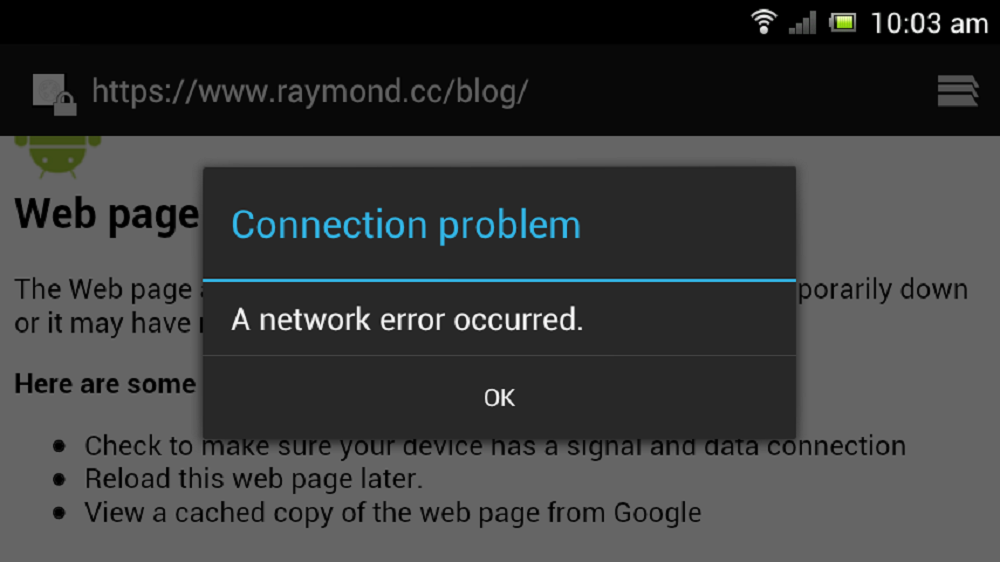 Getting SSL Connection Error in Android: How to fix