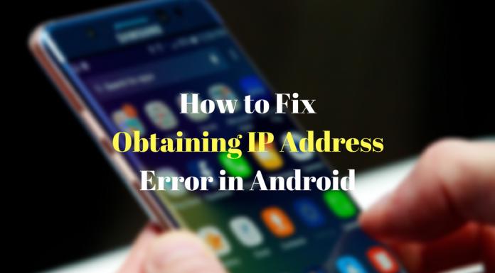 Fix Failed to Obtain IP Address
