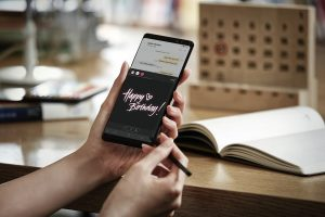 Galaxy Note 8: How to use Live Message