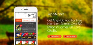 AppNana for android, iOS and PC
