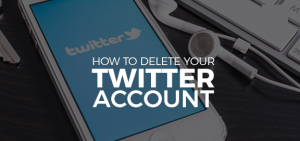 How to Delete Twitter
