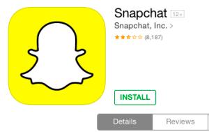 Snapchat For iPad