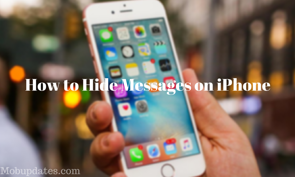 How to Hide Messages on the iPhone