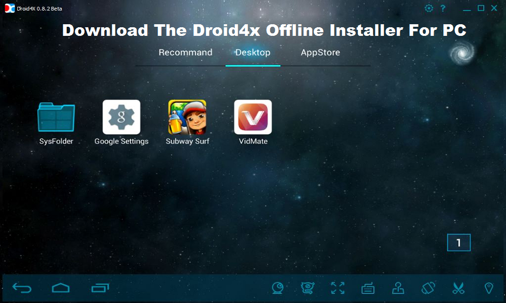 Download The droid4x offline installer For PC Windows 10/8.1/8/7/xp And Mac OS