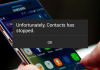 Here's How to fix Unfortunately Contact's Has Stopped Error on Android