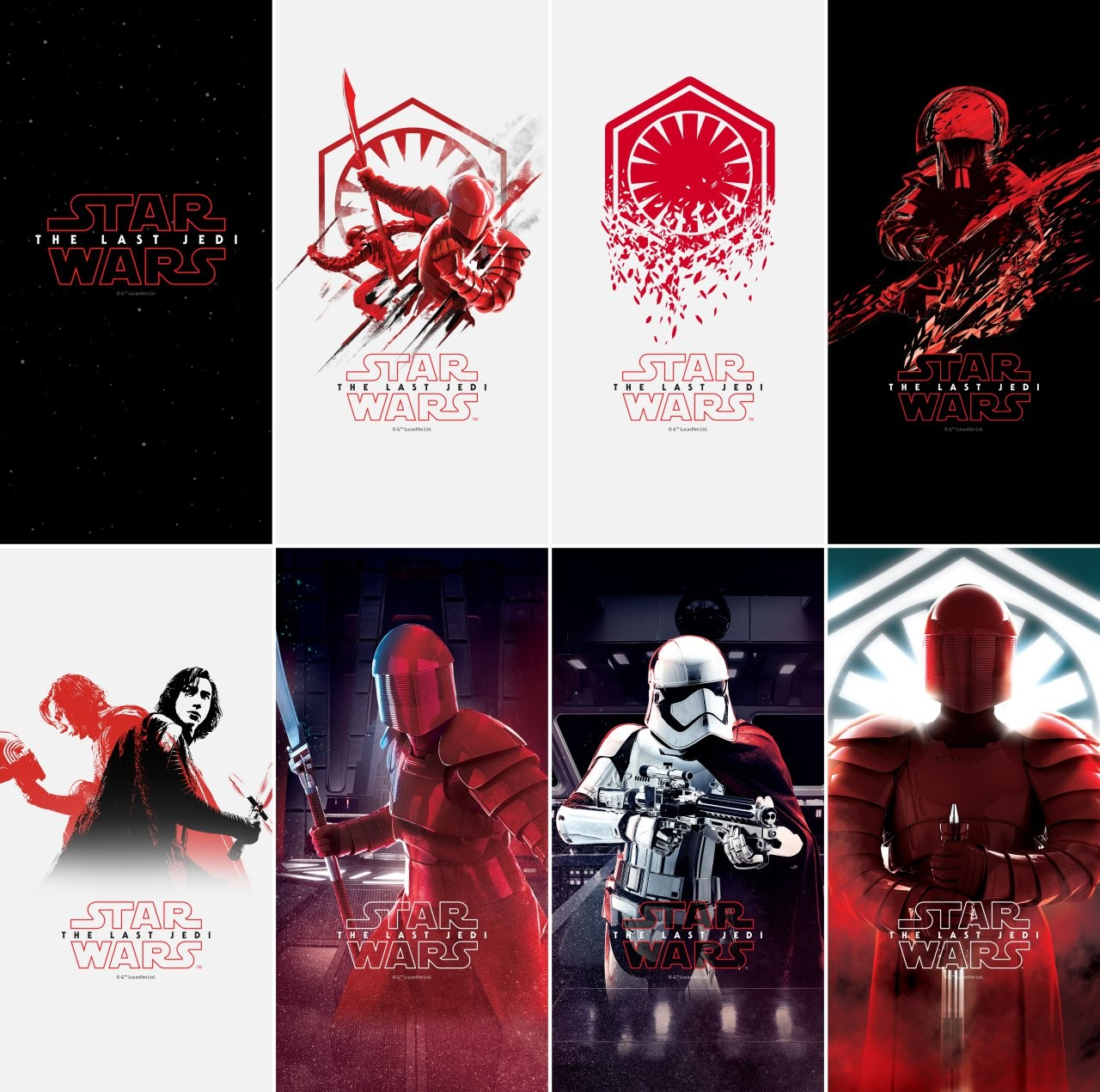 Download The OnePlus 5T Star Wars Edition wallpapers