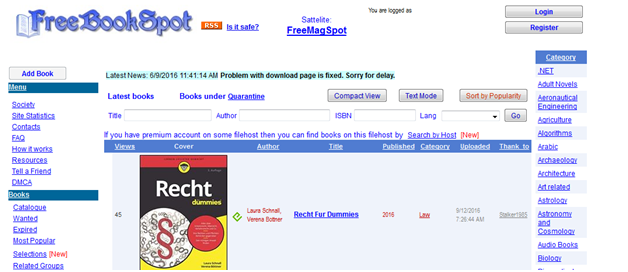 best torrent sites to download free ebooks