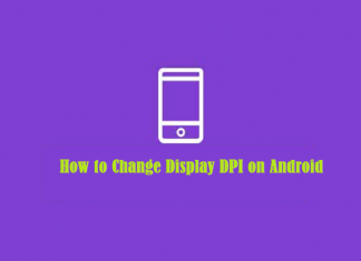 How to Change Display DPI on Android