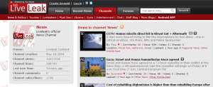 sites like LiveLeak