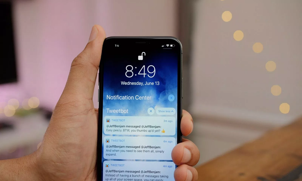 How to Change Groped Notification on iOS 12 Devices