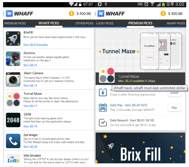 Download WHAFF Hack APK for Android