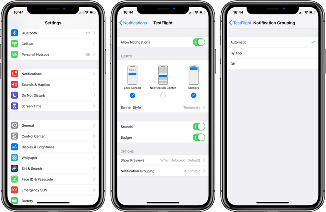 How to Customize Grouped Notifications on iOS 12 on iPhone and iPad