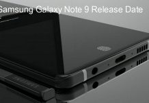 Samsung Galaxy Note 9 release date