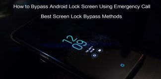 Screen Lock Bypass