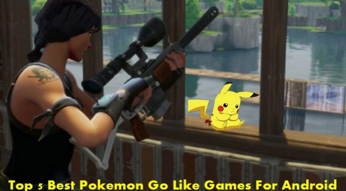 Pokemon Go Like Games For Android