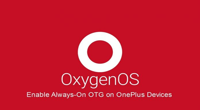 Enable Always-on OTG on OnePlus 6/5T/5/3T/3
