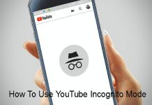 YouTube Incognito Mode on Android