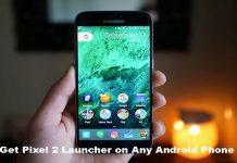 Get Pixel 2 Launcher
