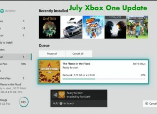 July Xbox One Update