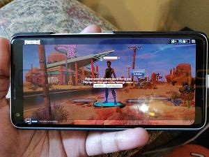 Gameplay of Fortnite Mobile for Android