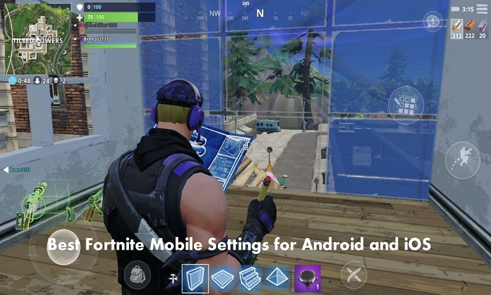 Best Fortnite Mobile Settings for Android and iOS Devices: Best