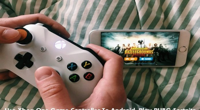 Connect Xbox One Game Controller To Android