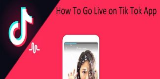 How To Go Live on Tik Tok App
