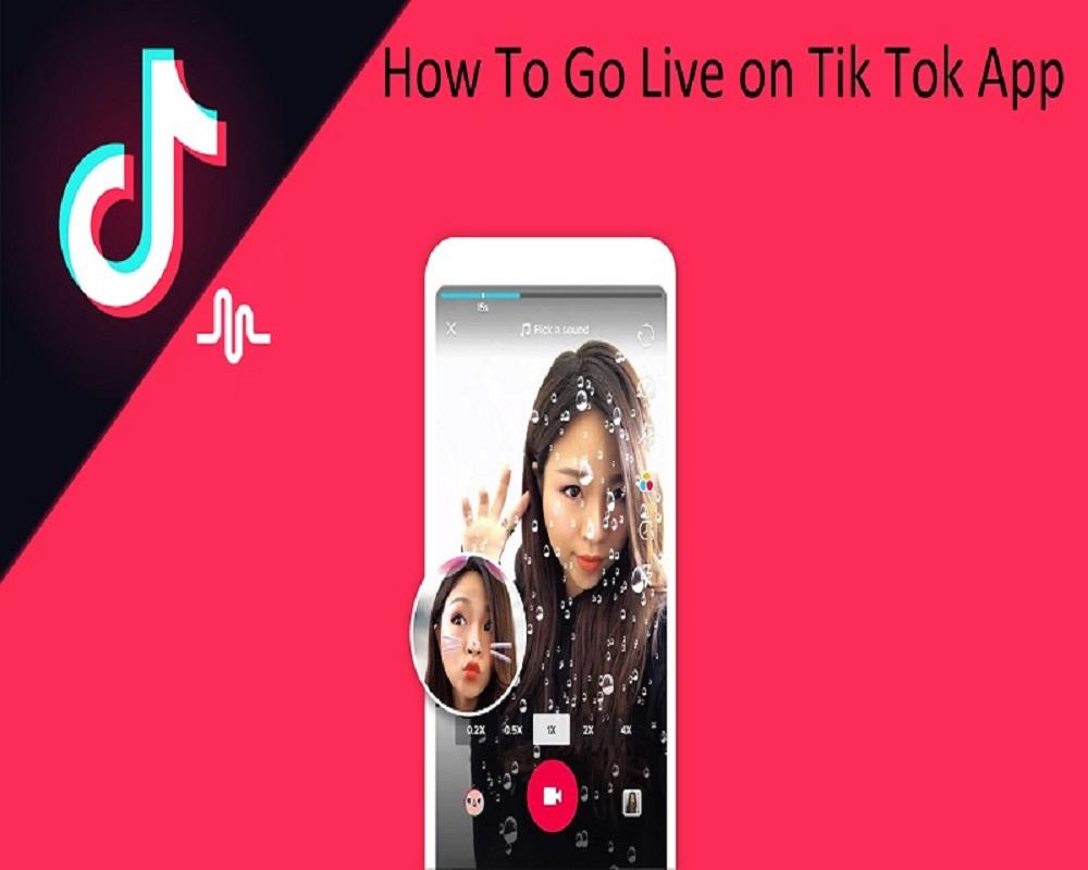 How To Go Live on Tik Tok App