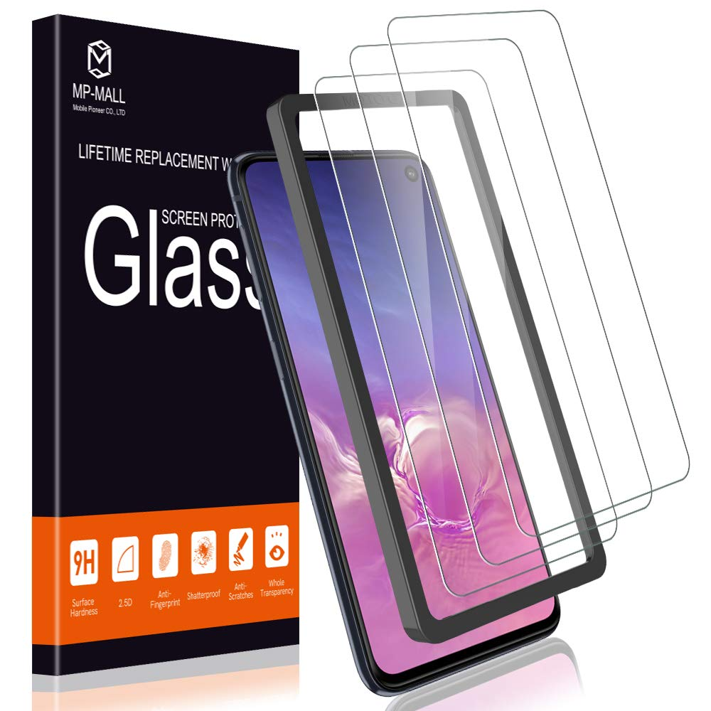 Tempered Glass Case Friendly Screen Protector for Galaxy S10e