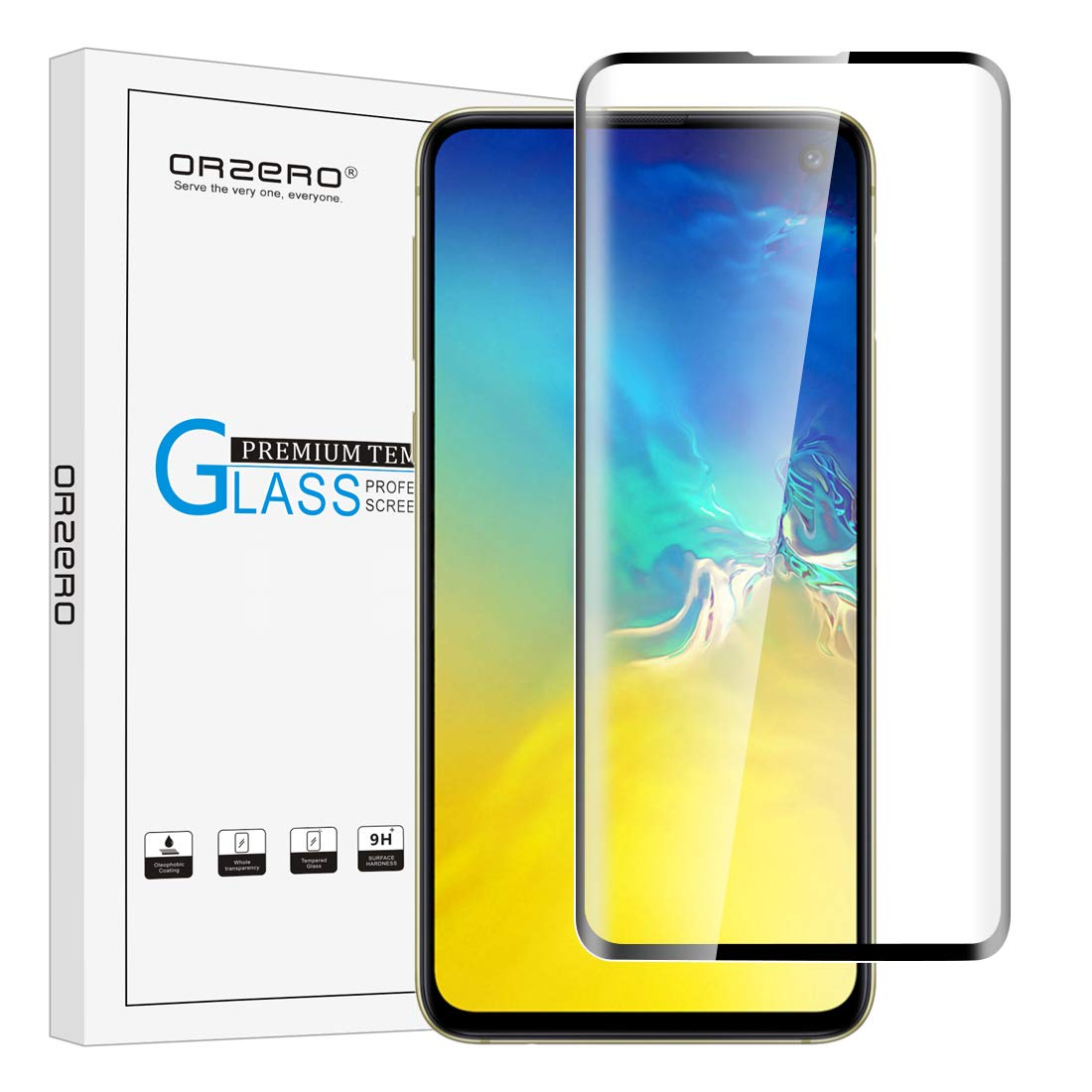 Tempered Glass Screen Protector for Samsung Galaxy S10e by Orzero