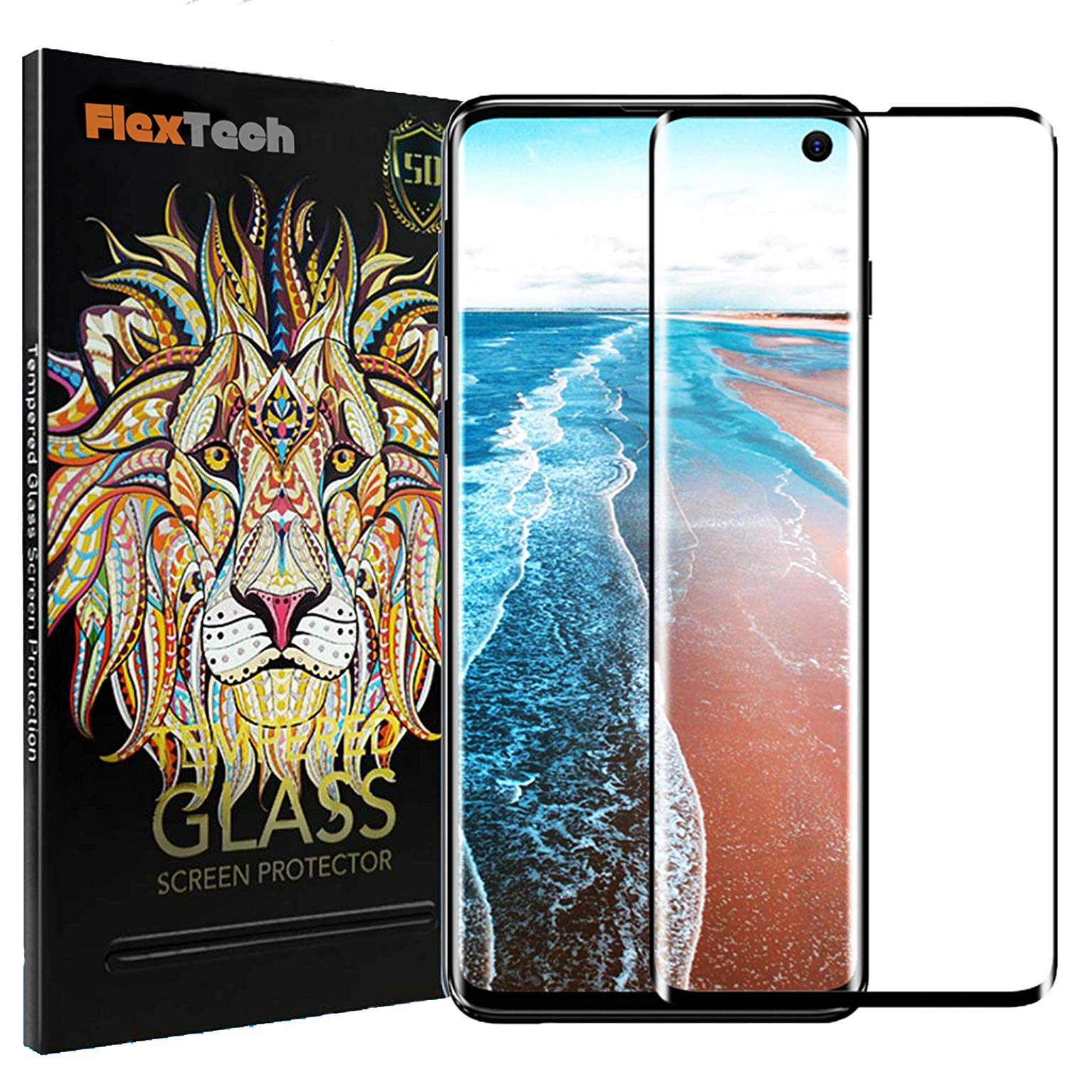 Ultra Clear Tempered Glass for Samsung Galaxy S10