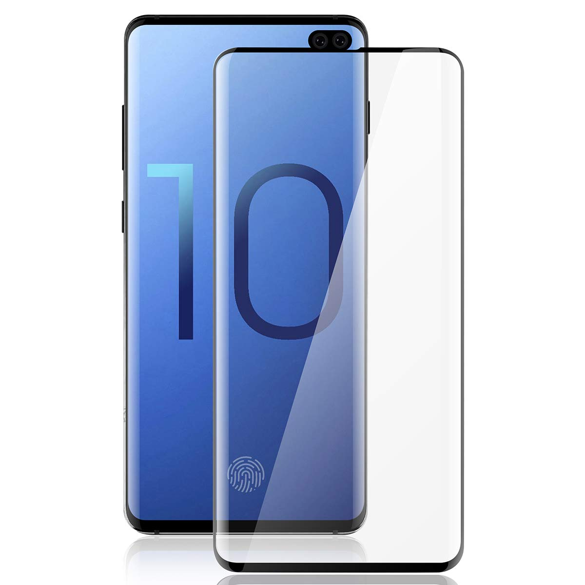 tempered Glass Screen protector for Samsung Galaxy S10 Plus