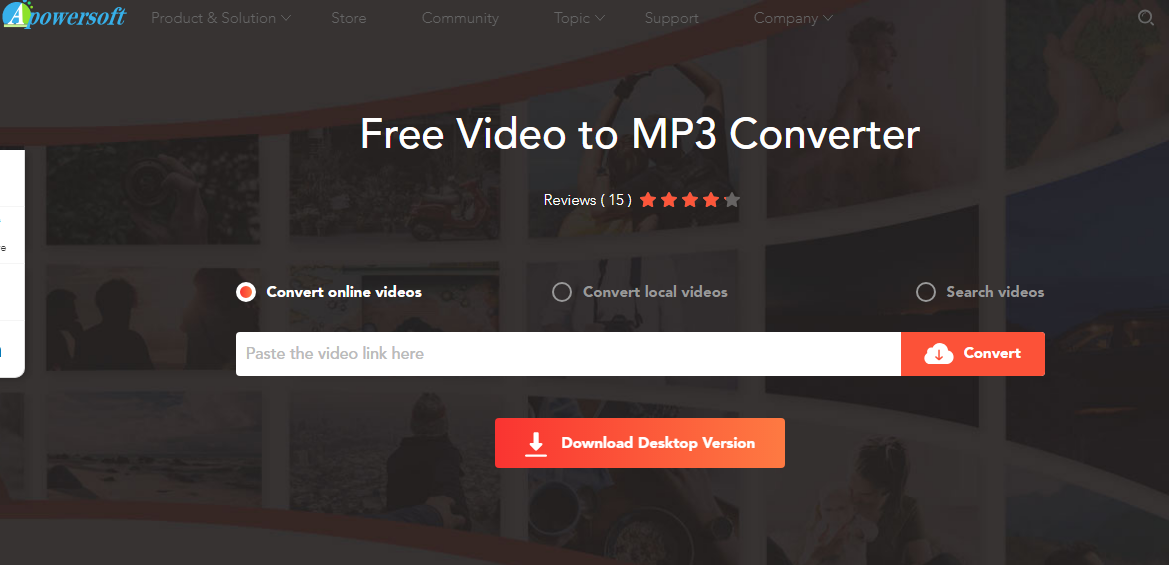 Apowersoft Free Video to MP3
