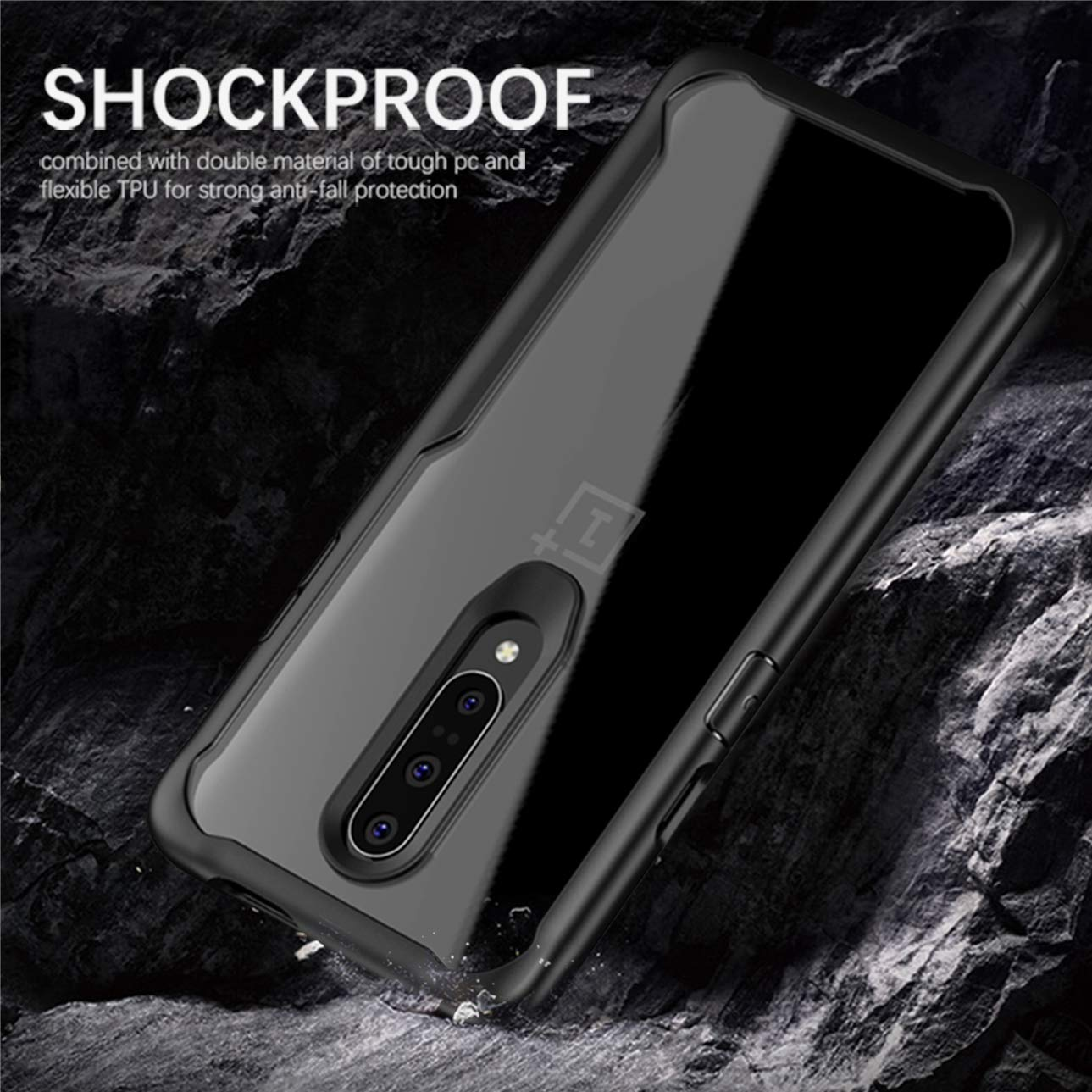 Heavy Duty Transparent Clear case for OnePlus 7 Pro