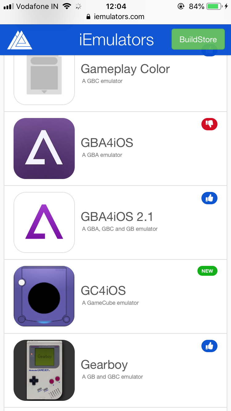 find GBA4iOS 2.1 and tap on it