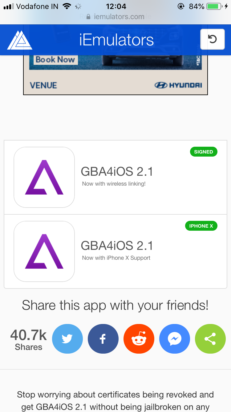 scroll down again until you find two GBA4iOS